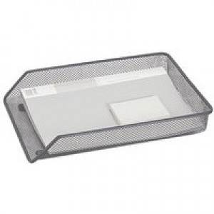 Q-Connect A4 Silver Mesh Letter Tray
