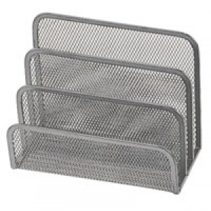 Q-Connect Silver Mesh Letter Sorter