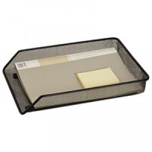 Q-Connect A4 Black Mesh Letter Tray