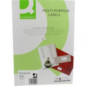 Q-Connect Multi Copier Labels Pk400
