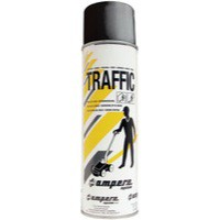 Black Traffic Paint Black Pk12