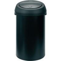 Touch Top Black Waste Bin 50 Ltr 374038