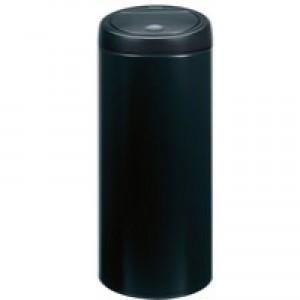 Touch Top Black Waste Bin 30 Ltr 374039
