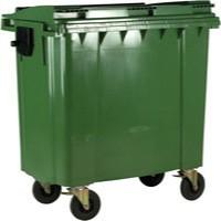 Green Wheeled Bin 770 Litre 377387