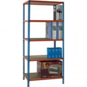 Blue/Orange 90x60cm Shelving Unit 378978