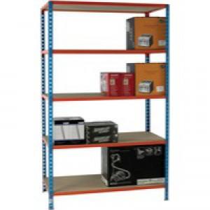 Blue/Orange 120x40cm Shelving 378984
