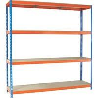 Orange/Zinc 2000X2400Xd900mm Shelving