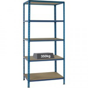 VFM Blue Medium Duty Bays Shelf System
