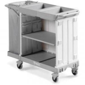 Compact Maid Trolley 800 Grey 381649