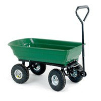 Dumping Green/Black 125L Cart 382074