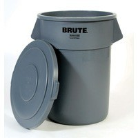 Grey Brute H/Duty Container 208L 382205