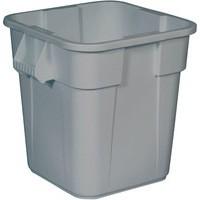 Grey Square Brute Container 106L 382210