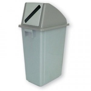 Recycling Container 60 Ltr/Lid Grey