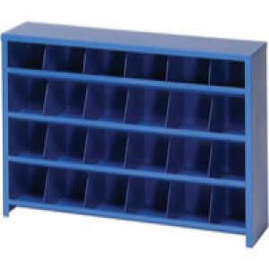 Image for FD 24 Slot Pigeon Hole Unit Blue 383109