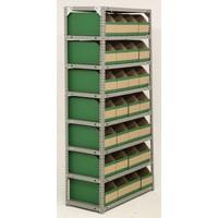 Bolt Kit 8 Shelf 28 Bin Grey Store Unit