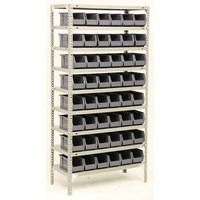 Bolt Kit 9 Shelf 40 Bin Grey Store Unit