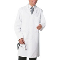 Alexandra Medium White Mens Coat