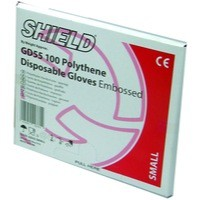 Shield Embossed Gloves Large Pk100 Gd55