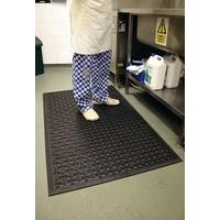 VFM Black 850x1400mm Kitchen Mat