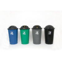 VFM Black/Blue Recycling Cup Bank