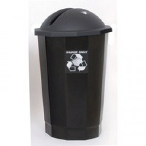 VFM Black Recycling Paper Bank