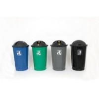 Plastic Bottle Bank Black/Blue 347577
