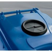 Blue Wheelie Bin 120L Bottle Lid Lock