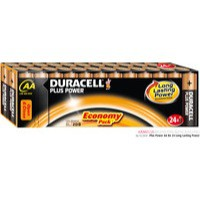 Duracell Plus AA Battery Pk24