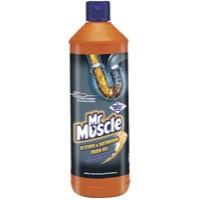 Mr Muscle Kitchen/Bathroom/Drain Gel 1Lt
