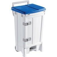 Mobile 90 Ltr Blue/Grey Hygiene Bin