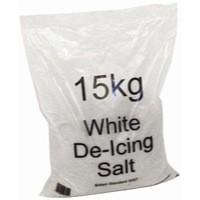 White Winter De-Icing Salt 15kg Bag Pk10