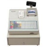 Image for Sharp Cash Register 217B 2000 PLUs 50 departments and 12 lines/sec W424xD355xH326mm Black Ref XE-A2178B