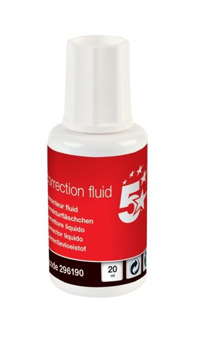 5 Star Office Correction Fluid White