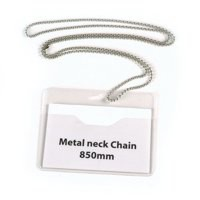 Announce Metal Neck Chain Pk10