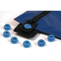 Security Seals Plain Round Blue [Pack 500]