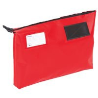 A3 Gusset Mail Pouch 470 x336x76mm Red