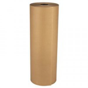 Kraft Paper Strong Thick for Packaging Roll 70gsm 750mmx300m Brown