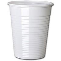 MyCafe Plastic Cups White 7oz Pk1000