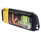 Image for AA Breakdown Kit Visibility Vest Sign Gloves Torch and Car Hammer Seatbelt Cutter Ref 5060114610750