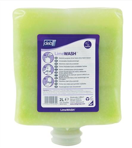DEB Limewash Hand Soap Refill Cartridge 2 Litre Ref N03831