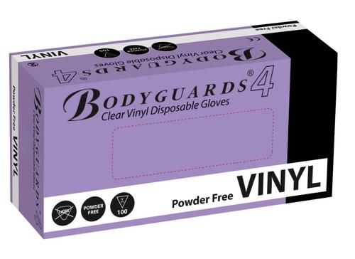 Vinyl Gloves Disposable Powder Free Medium Clear [50 Pairs]