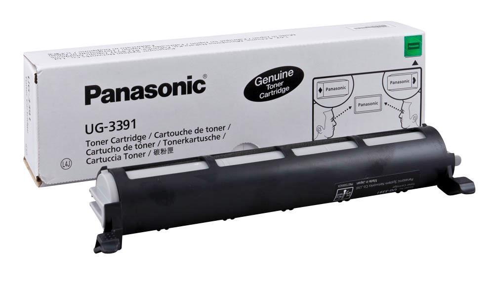 Panasonic Laser Toner Cartridge Page Life 3000pp Black Ref UG-3391