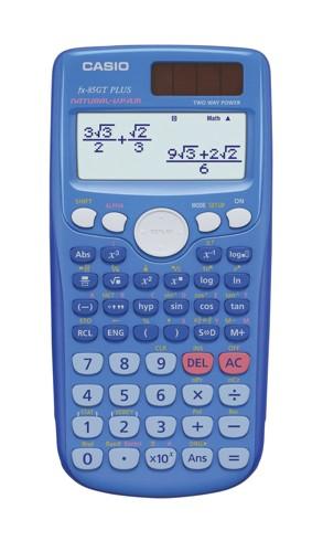 Casio FX-85GTPLUS Calculator Scientific Blue Ref FX85GTPLUSBlue