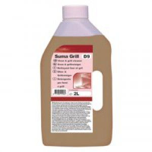 Diversey Suma Grill D9 Oven Cleaner 2Ltr