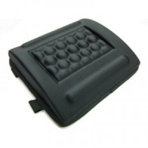 Q-Connect Black Memory Foam Back Cushion