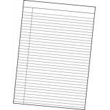 Image for Basics Memo Pad 80 Leaf Ruled A4 [Pack 10]