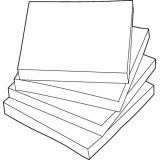 Image for Basics Repositionable Notes 75x75mm Yellow [Pack 12]