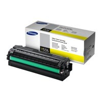 Samsung Laser Toner Cartridge High Yield Page Life 3500pp Yellow Ref CLT-Y506L/ELS