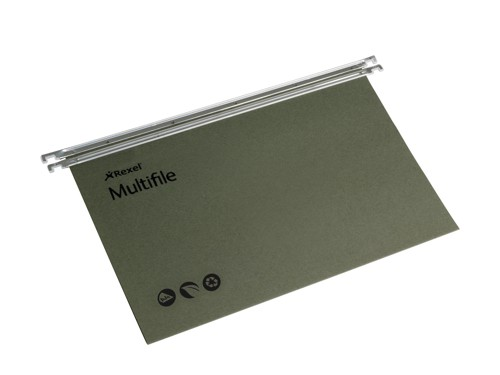 Rexel Multifile A4 Green Pk50 78617