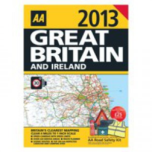 Image for AA Road Atlas Great Britain / Ire 2016